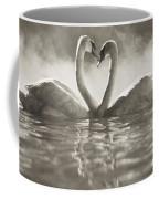 Swans In Lake Coffee Mug