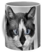 Sweet Blue Eyes Coffee Mug