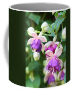 Sweet Fuchsia Flowers Coffee Mug