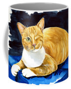 Sweet Melon - Ginger Tabby Cat Painting Coffee Mug