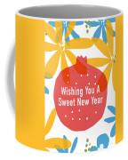 Sweet New Year Card- Art By Linda Woods Coffee Mug