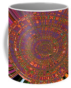 Sweet Pepper Melody Oval Abstract Coffee Mug
