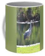 Sweet Sandhill By The Pond Coffee Mug