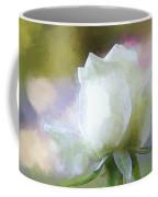 Sweet White Rose Coffee Mug