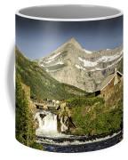 Swiftcurrent Falls Glacier Park 1 Coffee Mug