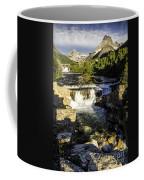 Swiftcurrent Falls Glacier Park 4 Coffee Mug