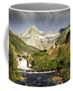 Swiftcurrent Falls Glacier Park Coffee Mug