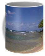 Swimmer In Paradise Coffee Mug
