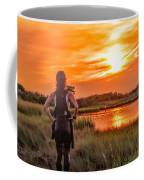 Swimmers Sunset Coffee Mug