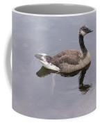 Swimming Canada Goose Coffee Mug