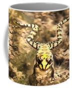 Swimming Frog Coffee Mug