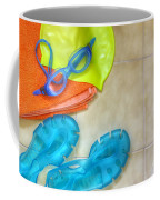 Swimming Gear Coffee Mug by Carlos Caetano