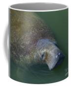 Swimming Manatee Coffee Mug
