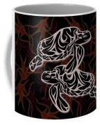 Swimming With Urchins Coffee Mug