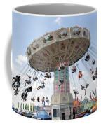 Swing Carousel At County Fair Coffee Mug