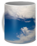 Swirl Of Clouds In A Blue Sky Coffee Mug