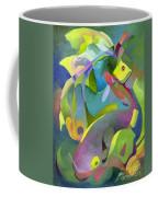 Swirling Fish Coffee Mug
