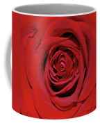 Swirling Red Silk Coffee Mug