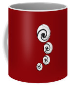 Swirling Round Coffee Mug