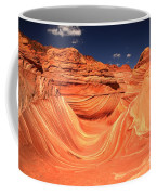 Swirls And Buttes At The Wave Coffee Mug