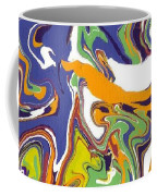 Swirls Drip Art Coffee Mug