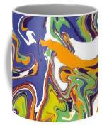 Swirls Drip Art Coffee Mug