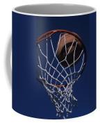 Swish.  A Basketball Coffee Mug by Stacy Gold