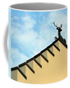 Swiss Deer On Zurich Rooftop Coffee Mug