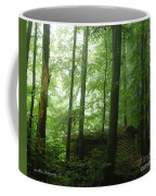 Swiss Forest Cabin Coffee Mug