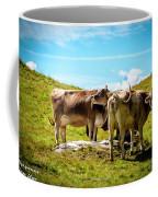 Happy Swiss Cows Coffee Mug