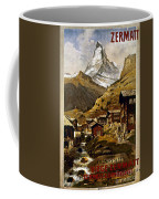 Swiss Travel Poster, 1898 Coffee Mug