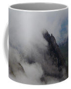 Switzerland. View From The Top Of Large Mythen Coffee Mug