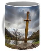 Sword Of Llanberis Snowdonia Coffee Mug