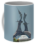 Swordfish Sculpture Coffee Mug