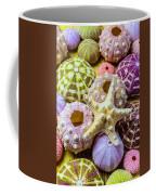 Syarfish And Sea Urchins Coffee Mug
