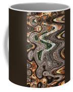 Sycamore Tree Abstract # 9283 Coffee Mug