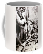 Sycamore Tree Overgrowing Ruins- Cambodia Coffee Mug