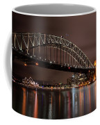 Sydney Harbor At Night Coffee Mug