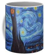 Syfy- Starry Night In Mordor Coffee Mug