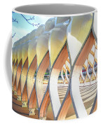 Symmetry In Perspective Coffee Mug