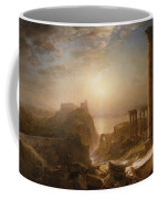 Syria By The Sea Coffee Mug by Frederic Edwin Church