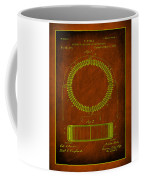 System Of Electrical Distribution Patent Drawing 1e Coffee Mug