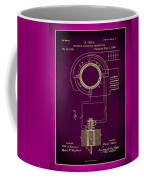 System Of Electrical Distribution Patent Drawing 2c Coffee Mug