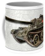 T-54 Soviet Tank W-bg Coffee Mug