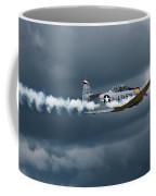 T-6 Texan Smoke On Coffee Mug