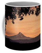 Mt. Hood At Sunset Coffee Mug