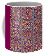T J O D Mandala Series Puzzle 3 Variations 1-9 Coffee Mug