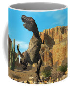 T-rex Coffee Mug by Corey Ford