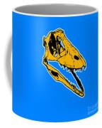 T-rex Graphic Coffee Mug by Pixel  Chimp