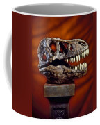 T Rex Skull Coffee Mug